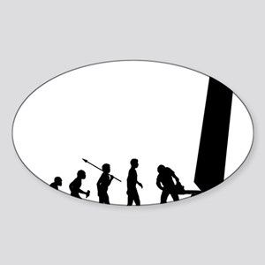 Logger Sticker (Oval)