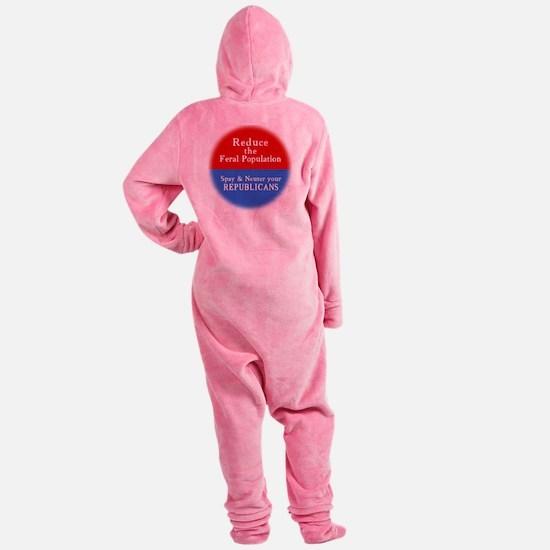spay-t Footed Pajamas