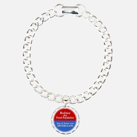 spay-t Charm Bracelet, One Charm