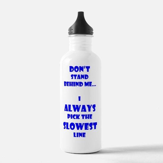 Slow Line  Water Bottle