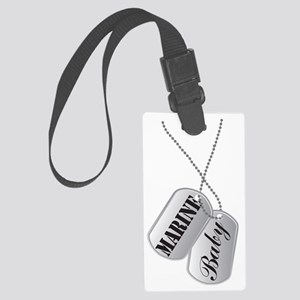 Marine Baby Large Luggage Tag