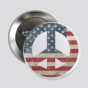 "VintagePeace 2.25"" Button"