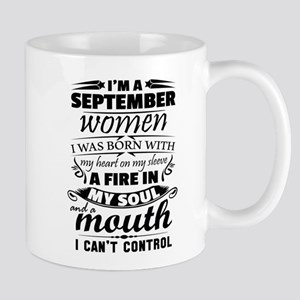 I Am A September Women Mugs