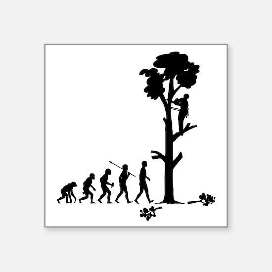 "Tree-Trimmer2 Square Sticker 3"" x 3"""