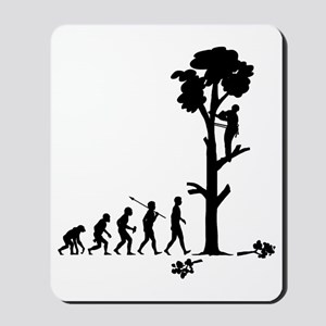 Tree-Trimmer2 Mousepad