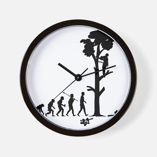 Tree-Trimmer2 Wall Clock