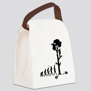 Tree-Trimmer2 Canvas Lunch Bag