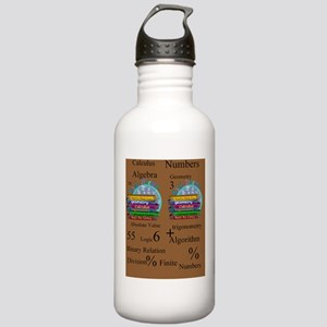 Math Teacher 4 Stainless Water Bottle 1.0L