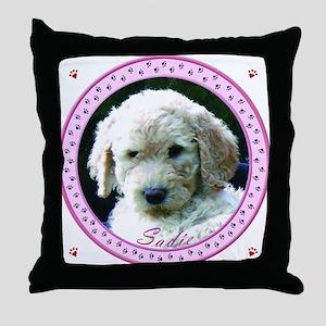 Personalized Tile Box/Coaster Throw Pillow