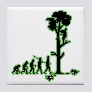 Tree-Trimmer4 Tile Coaster