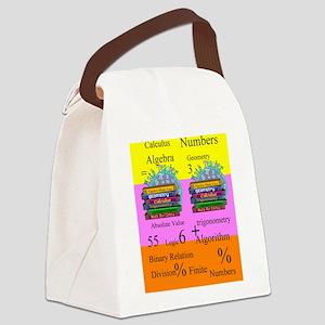 math teacher 8 Canvas Lunch Bag