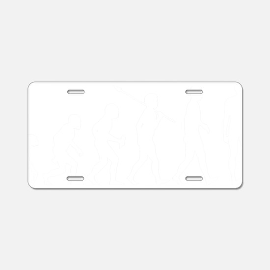 Gay1 Aluminum License Plate