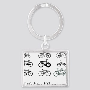 All The bikes Ill ever own Landscape Keychain