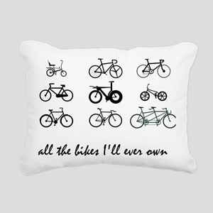 All The bikes Ill ever o Rectangular Canvas Pillow