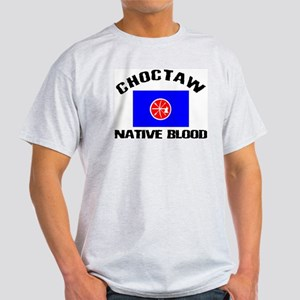Choctaw Native Blood Light T-Shirt