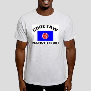 Choctaw Native Blood Light T-Shirt