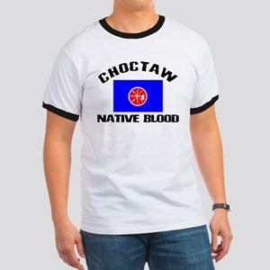 Choctaw Native Blood Ringer T
