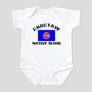 Choctaw Native Blood Infant Bodysuit
