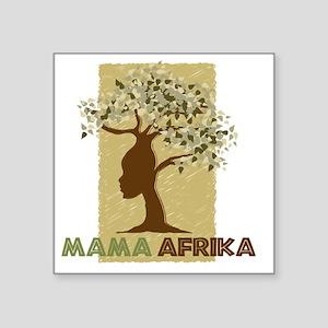 "Mama_Africa Square Sticker 3"" x 3"""