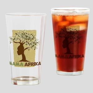 Mama_Africa Drinking Glass