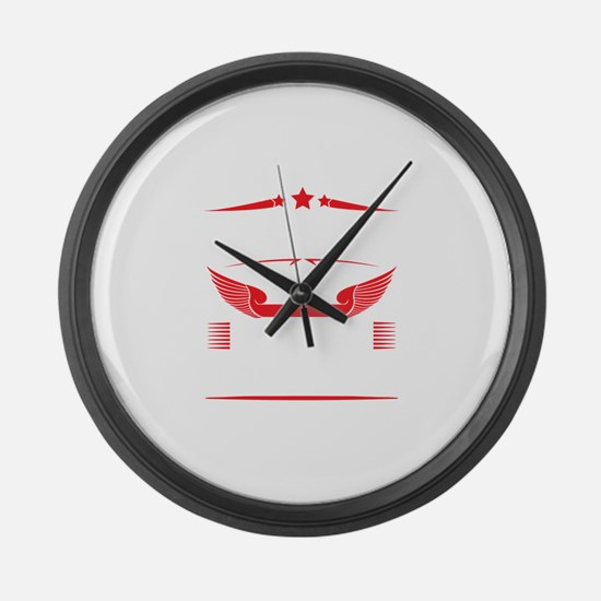Legends Are Born In December Large Wall Clock