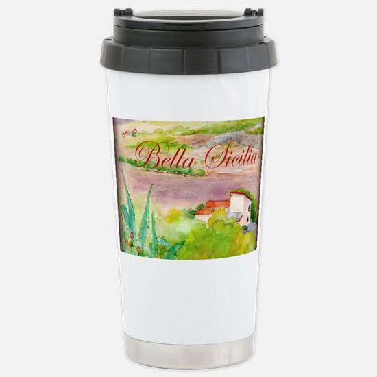 Bella Sicilia Stainless Steel Travel Mug