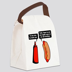 meatKetchup1A Canvas Lunch Bag