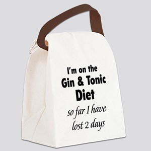 ginTonicDiet1A Canvas Lunch Bag
