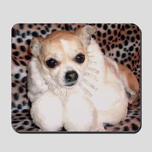 Miss Moo Moo Fur Mousepad