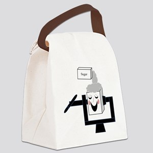 Giggle box Canvas Lunch Bag