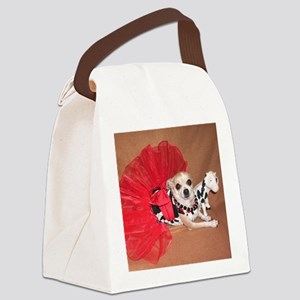 Miss Moo Moo Canvas Lunch Bag