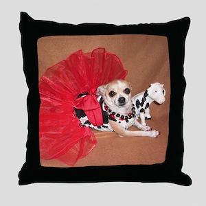 Miss Moo Moo Throw Pillow