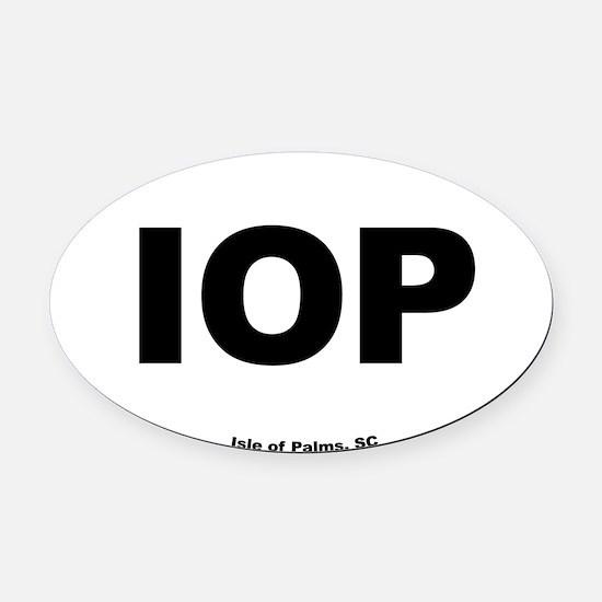 Isle of Palms South Carolina EURO  Oval Car Magnet