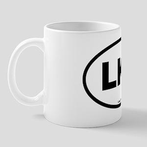 Lake Tillery South Carolina EURO Oval L Mug