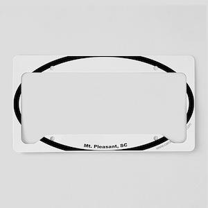 Mount Pleasant South Carolina License Plate Holder