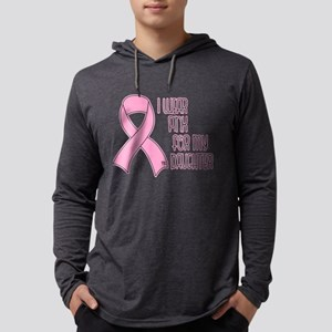 I Wear Pink - Daughter Long Sleeve T-Shirt