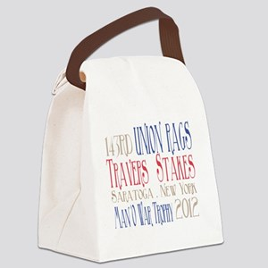 Union Rags - Travers Stakes 2012 Canvas Lunch Bag