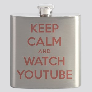 keep calm and watch youtube Flask