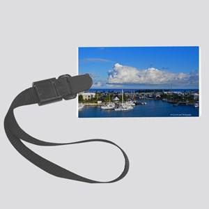 Royal Naval Dockyard Large Luggage Tag