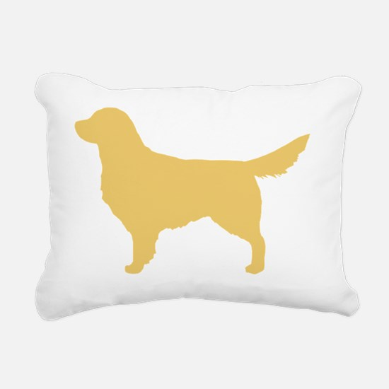 goldenretriever Rectangular Canvas Pillow