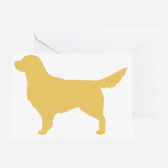 goldenretriever Greeting Card