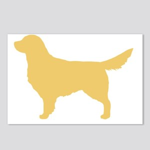 goldenretriever Postcards (Package of 8)