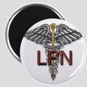 LPN Medical Symbol Magnet