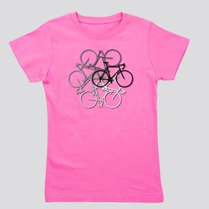Bicycle circle Girl's Tee
