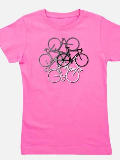 Bicycle circle Girl's Tee