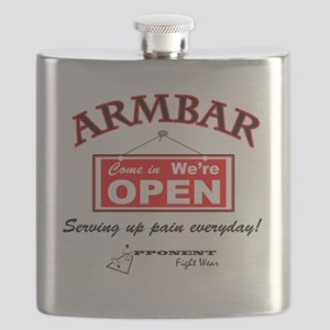 Armbar - we are open Flask