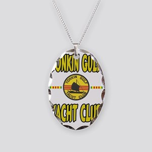 TONKIN GULF YACHT CLUB Necklace Oval Charm