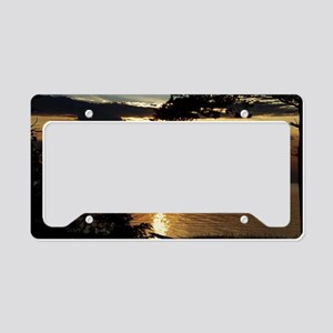 Ontonagon, Michigan Sunset License Plate Holder