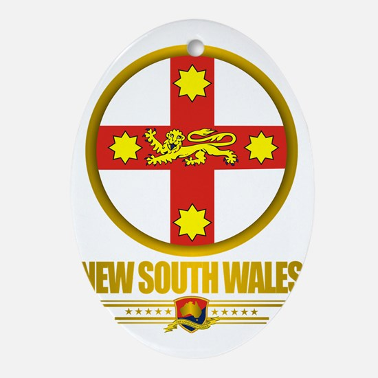 New South Wales Emblem Oval Ornament