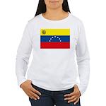 Venezuela Flag Women's Long Sleeve T-Shirt